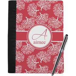 Coral Notebook Padfolio (Personalized)