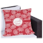 Coral Outdoor Pillow (Personalized)