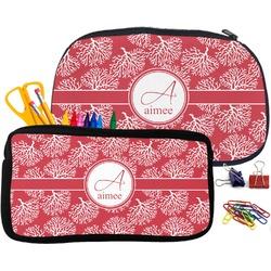 Coral Pencil / School Supplies Bag (Personalized)
