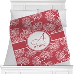 Coral Minky Blanket (Personalized)