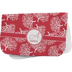 Coral Burp Cloth (Personalized)