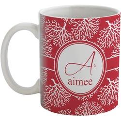 Coral Coffee Mug (Personalized)