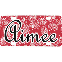 Coral Mini / Bicycle License Plate (Personalized)
