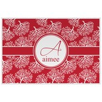Coral Placemat (Laminated) (Personalized)