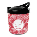 Coral Plastic Ice Bucket (Personalized)