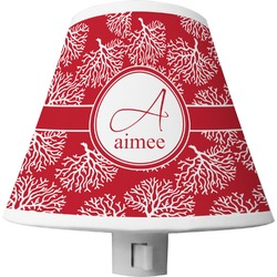 Coral Shade Night Light (Personalized)