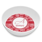 Coral Melamine Bowl 8oz (Personalized)