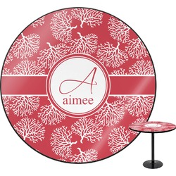 Coral Round Table (Personalized)