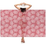Coral Sheer Sarong (Personalized)