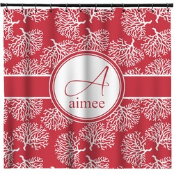 Coral Shower Curtain (Personalized)