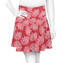 Coral Skater Skirt (Personalized)