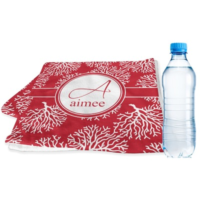 Coral Sports & Fitness Towel (Personalized)