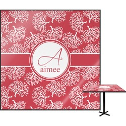 Coral Square Table Top (Personalized)