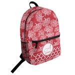 Coral Student Backpack (Personalized)