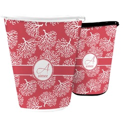 Coral Waste Basket (Personalized)