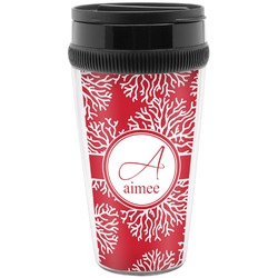 Coral Travel Mug (Personalized)