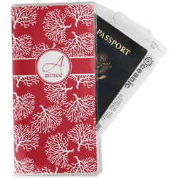 Coral Travel Document Holder