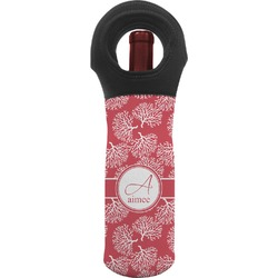 Coral Wine Tote Bag (Personalized)