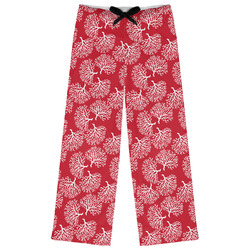 Coral Womens Pajama Pants (Personalized)