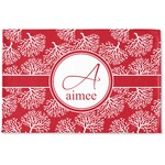 Coral Woven Mat (Personalized)