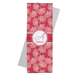 Coral Yoga Mat Towel (Personalized)