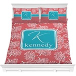Coral & Teal Comforters (Personalized)