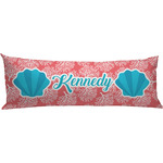 Coral & Teal Body Pillow Case (Personalized)
