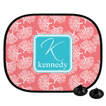 Coral & Teal Car Side Window Sun Shade (Personalized)