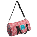 Coral & Teal Duffel Bag - Multiple Sizes (Personalized)