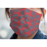 Coral & Teal Face Mask Cover (Personalized)