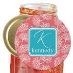Coral & Teal Jar Opener (Personalized)