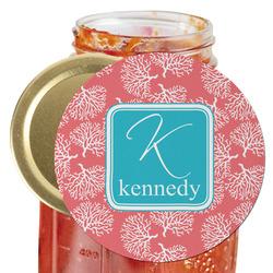 Coral & Teal Jar Opener (Personalized)