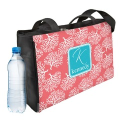 Coral & Teal Ladies Workout Bag (Personalized)