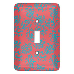 Coral & Teal Light Switch Covers - Multiple Toggle Options Available (Personalized)