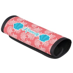 Coral & Teal Luggage Handle Cover (Personalized)
