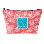 Coral & Teal Makeup Bags (Personalized)