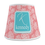 Coral & Teal Empire Lamp Shade (Personalized)