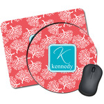 Coral & Teal Mouse Pads (Personalized)