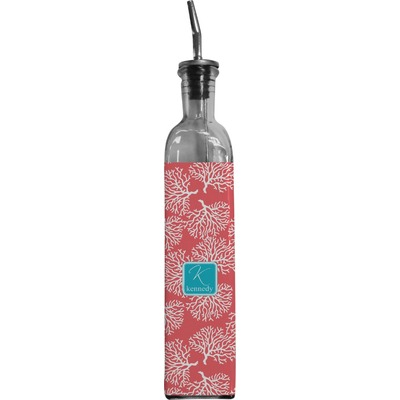 Coral & Teal Oil Dispenser Bottle (Personalized)