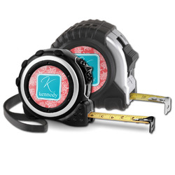 Coral & Teal Tape Measure (Personalized)