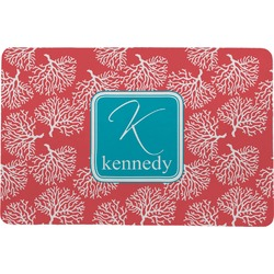 Coral & Teal Comfort Mat (Personalized)