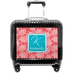 Coral & Teal Pilot / Flight Suitcase (Personalized)