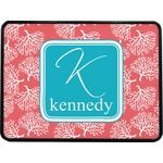 Coral & Teal Rectangular Trailer Hitch Cover (Personalized)