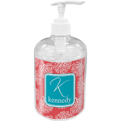 Coral & Teal Soap / Lotion Dispenser (Personalized)