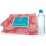 Coral & Teal Sports & Fitness Towel (Personalized)