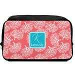 Coral & Teal Toiletry Bag / Dopp Kit (Personalized)