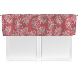 Coral & Teal Valance (Personalized)