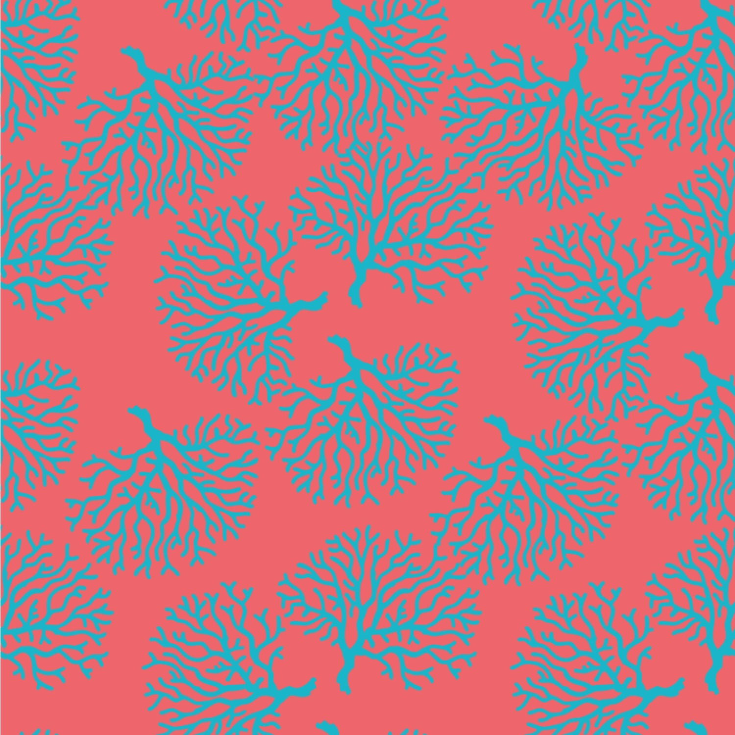 Coral teal wallpaper surface covering peel stick 24 for Teal peel and stick wallpaper