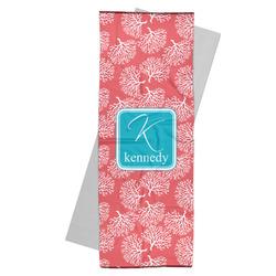 Coral & Teal Yoga Mat Towel (Personalized)