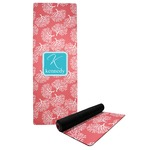 Coral & Teal Yoga Mat (Personalized)